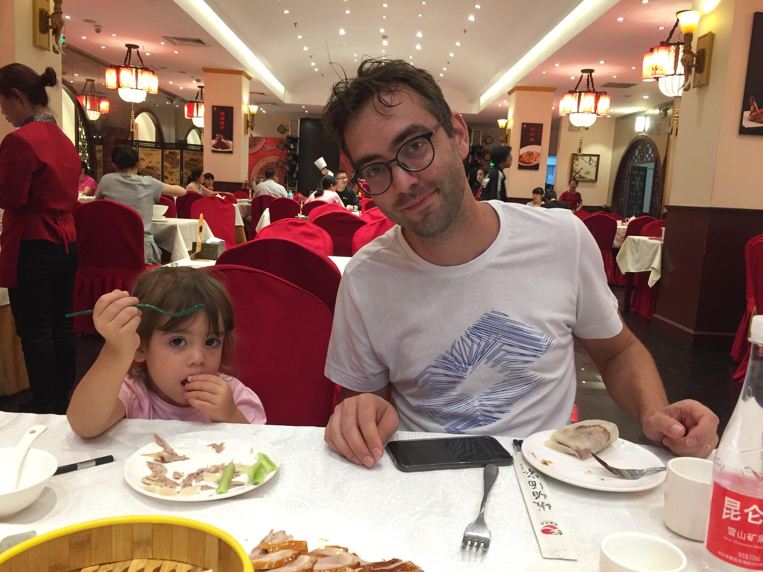 mangiare in cina con i bambini