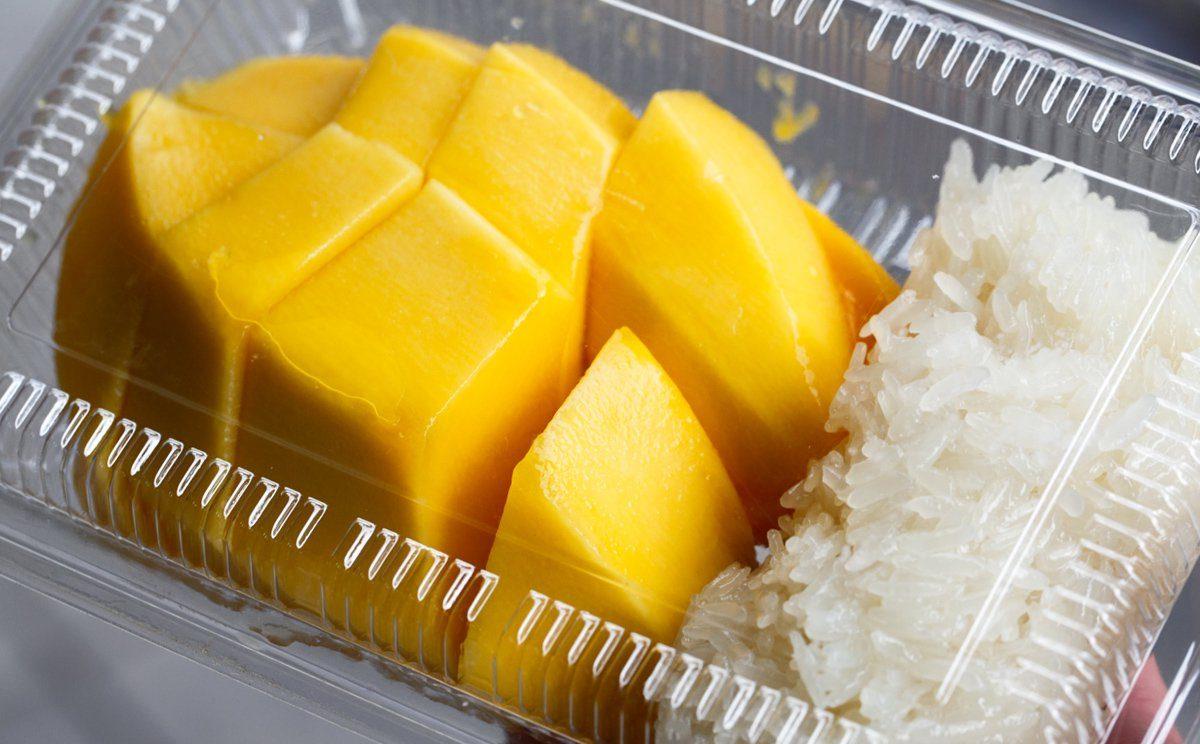 mango sticky rice ricetta vegana