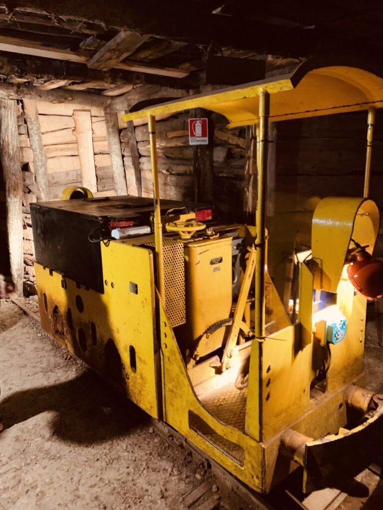 visitare una miniera in italia, museo
