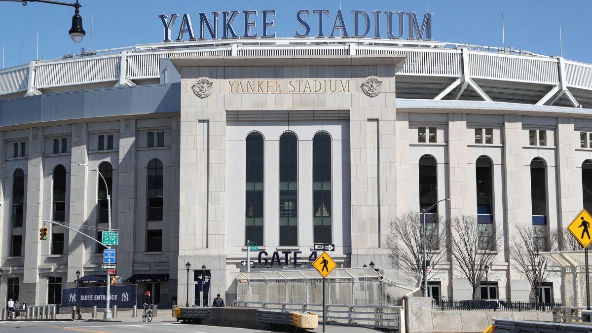 Bronx con bambini, yankee stadium