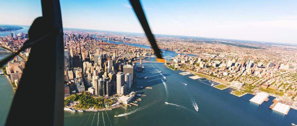 New york elicottero bambini