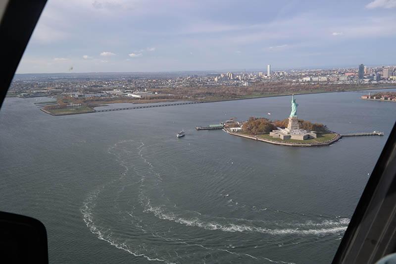 new york in elicottero con bambini